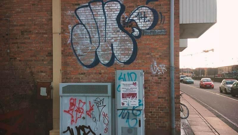 Graffitirens i Aarhus